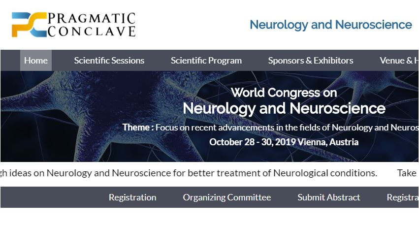 Breathing Labs – Announcement: World Congress on Neurology